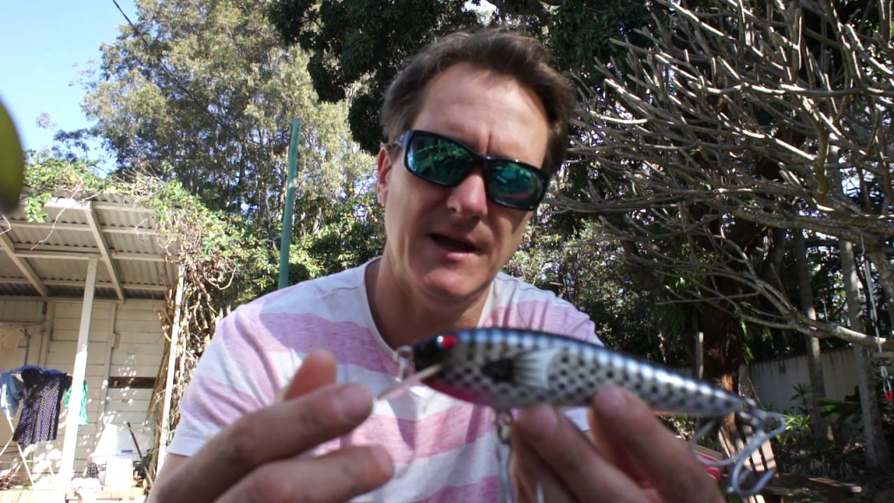 Handmade Lures Of Australia Unwrapped - Andos Lures - August 2016