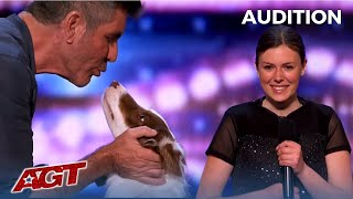 Alexandra Côté: Canadian Dog Trainer Gets Simon Cowell in on The Act!