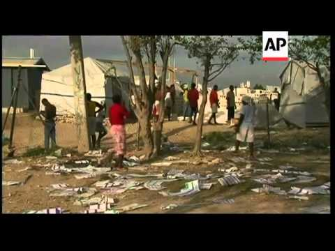 Observers play down fraud in Haiti's election  - sent to DC