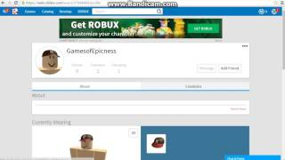 GamesofEpicness Roblox Account Tour NAKED PLAYER