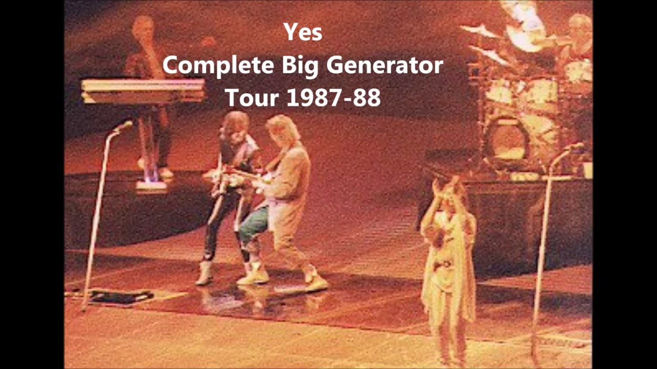 Yes Big Generator Tour