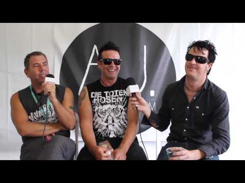 Interview: The Living End at Soundwave Festival 2014 (Sydney, Australia)