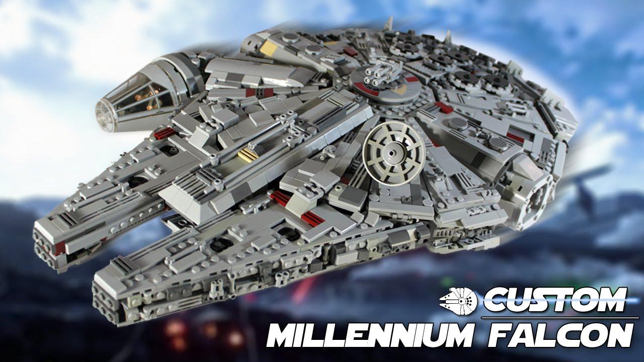 Custom LEGO Star Wars: Millennium Falcon - YouTube