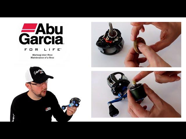 Wartung und Pflege einer Baitcaster / Multirolle ( Maintenance / Oil / Lube a Baitcaster)