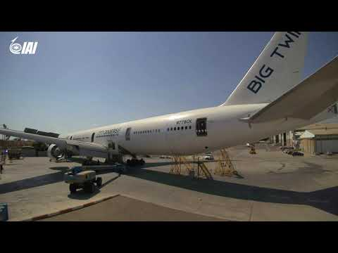 IAI and GECAS Begin First Boeing 777-300ERSF Passenger to Freighter Conversion