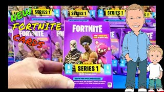 NEW !! FORTNITE Panini Trading Cards! Entire 20 box case. LEGENDARY and EPIC pulls!!