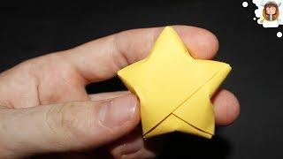 Paper Stars - Origami Paper Star Tutorial