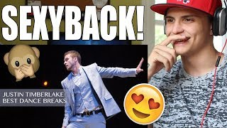Justin Timberlake Best Dance Breaks REACTION