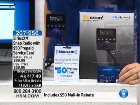 siriusxm-snap-radio-with-$50-prepaid-service-card-and-$50-mail-in-rebate