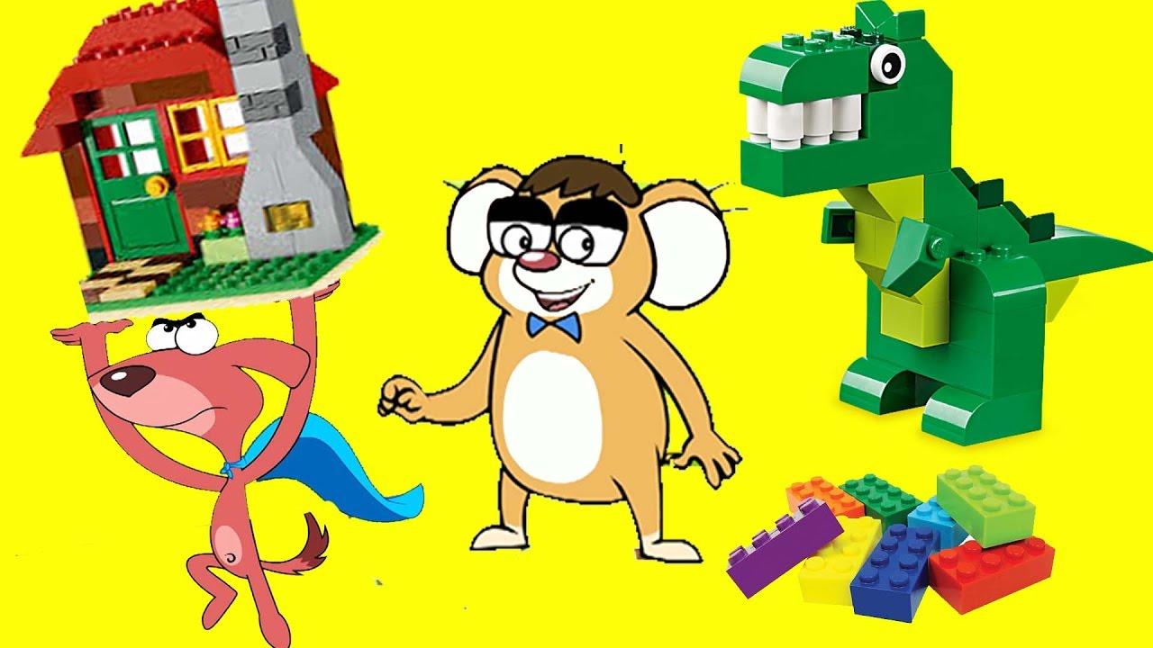 Rat A Tat|LegoLand Toys Transformation Superheroes Battle|Chotoonz Children Humorous Cartoon Movies