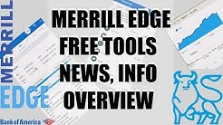 Bank of America - Merrill Edge Free Investing Tools: Technical Insights, Free Reports, Stock Stories