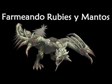 [Masa Guía] Monster Hunter 4 Ultimate - Farmeo de Rubies y Mantos de Rathian [Español]