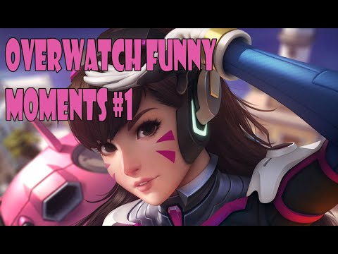 Overwatch funny moments #1 / Overwatch смешные моменты #1