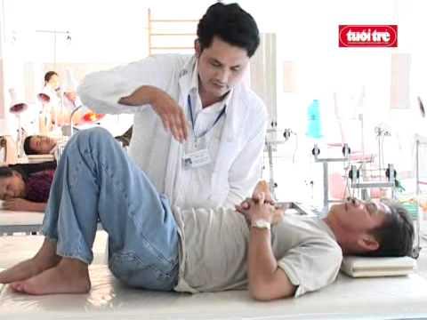 trị đau lưng - trị thoát vị đĩa đệm bằng vật lý trị liệu