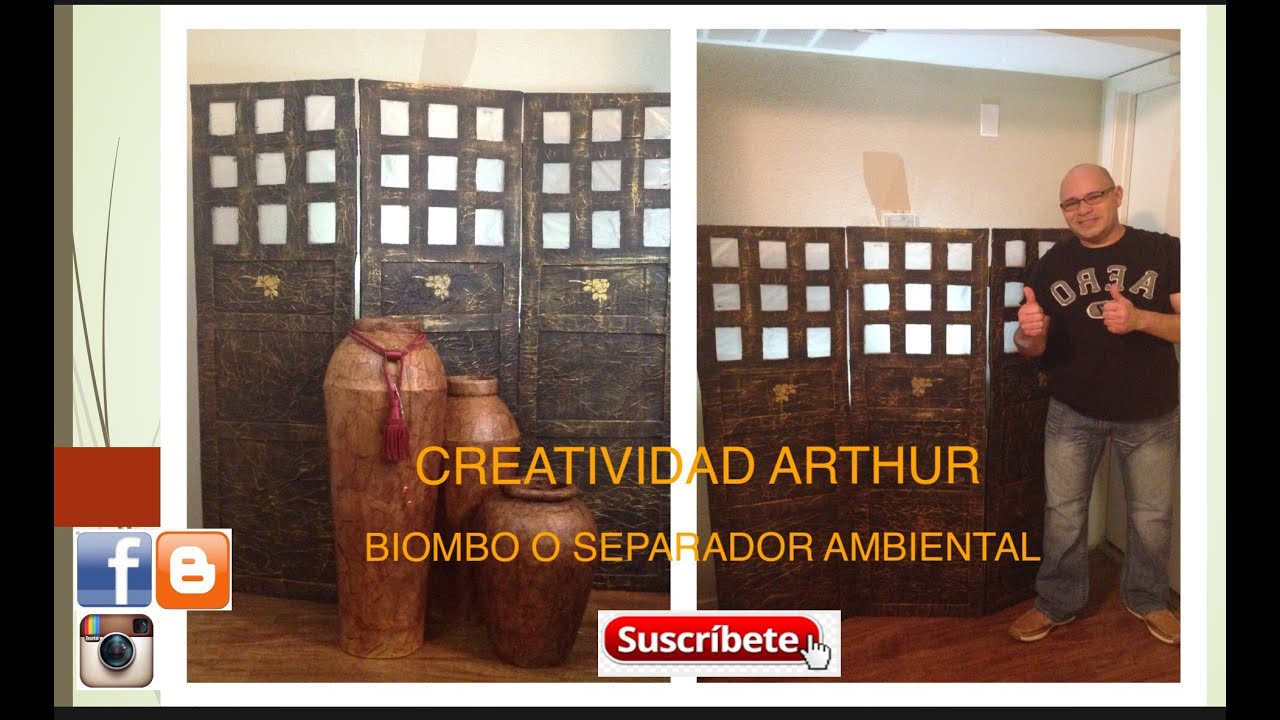 Biombos caseros conoce cmo biombos japoneses cmo dividir ambientes biombos biombos con papel - Biombos casa home ...