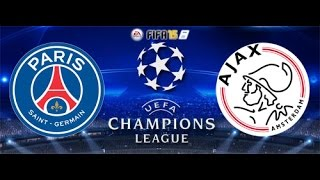 Video Gol Pertandingan Paris Saint Germain vs Ajax Amsterdam
