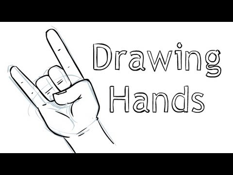 How to draw hands youtube for Draw with jazza mural