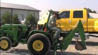 JOHN DEERE 790 TRACTOR WITH LOADER AND BACKHOE