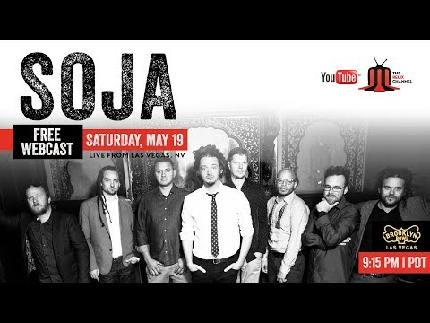 SOJA :: Brooklyn Bowl Las Vegas :: 5/19/18 :: Full Show