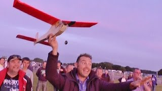FREE FLIGHT MAYHEM - BMFA RC NATIONALS RAF BARKSTON HEATH - 2015