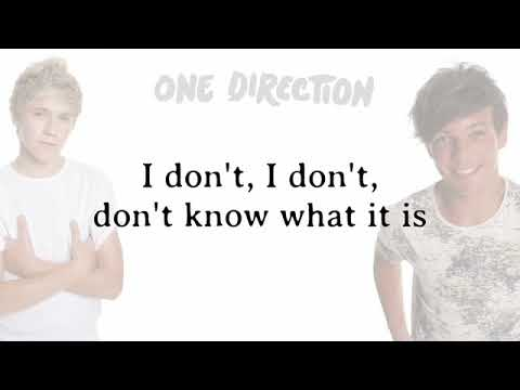 Download One Direction   One Thing  Lyrics + Pictures mp4