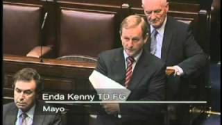 Enda Kenny speech in the Dail on motion to run the by-elections
