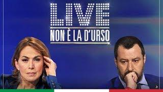 MATTEO SALVINI A NON È LA D'URSO (CANALE 5, 29.03.2020)