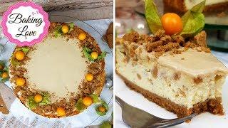 Der WELTBESTE Käsekuchen: Spekulatius Cheesecake mit Zimt & Orange I Winter Edition