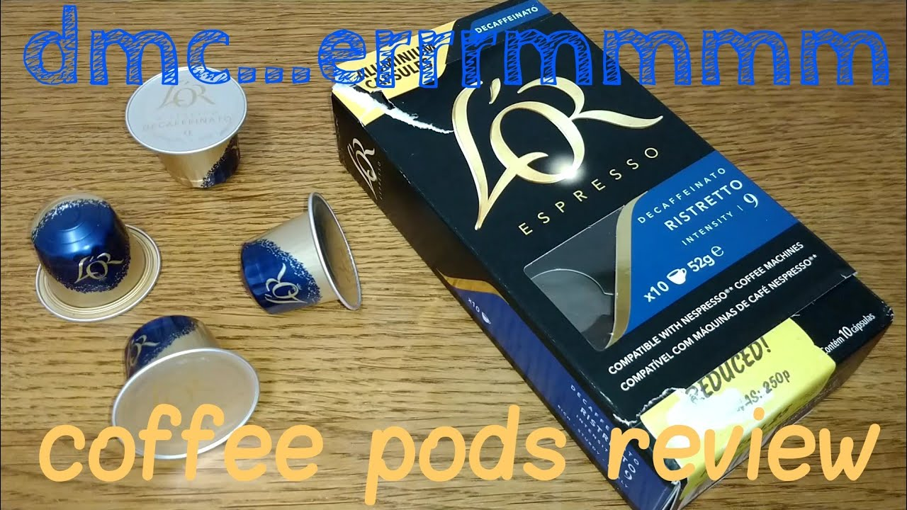 Lor Decaffeinato Ristretto Coffee Pods Review