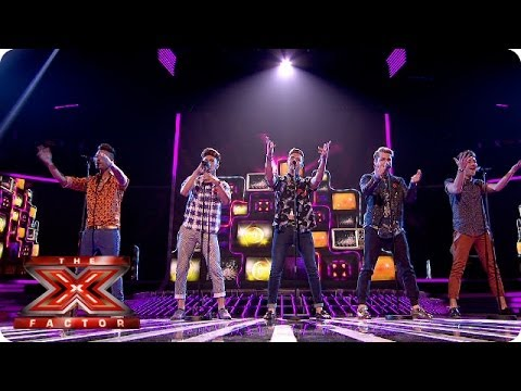 Kingsland Road sing Blame It On The Boogie - Live Week 4 - The X Factor 2013