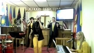 10.12.2014 Совершенный Бог. Господь Ты Пастырь Мой. Christian Church New Life (3)