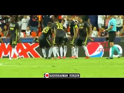 Ronaldo Çıldırdı! Kırmızı Kart Sonrası Kendini Yerden Yere Vurdu,Sevenlerini Üzdü Juve Valencia