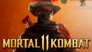 "Erron Black DESTROYS Everyone! - Mortal Kombat 11: ""Erron Black"" Gameplay"
