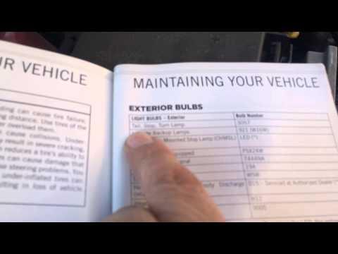 2013 Jeep GC, Daytime Running Light Change (passenger side)