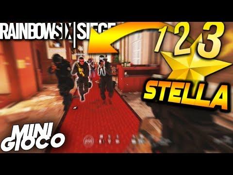 1-2-3 STELLA !! MINI GIOCO | RAINBOW SIX SIEGE ITA