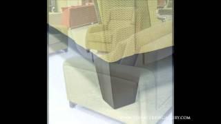 Modern Sofa Set - Convertible Sofa - Green - Narissa
