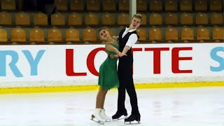 Ритм-танец. Танцы. Riga Cup. Гран-при по фигурному катанию среди юниоров 2019/20
