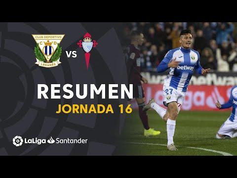 Resumen De CD Leganés Vs RC Celta (3-2)