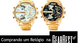 UNBOXING : RELÓGIO Shiweibao A3137 Men Quartz Watch  BR-PT #13