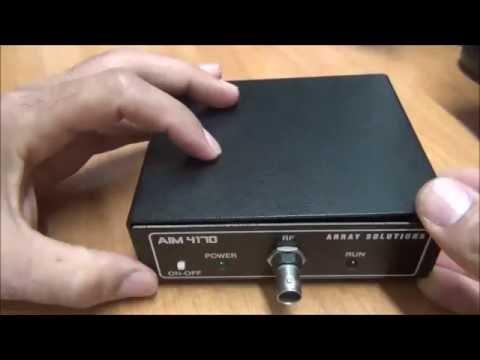 Portable antenna analyzer