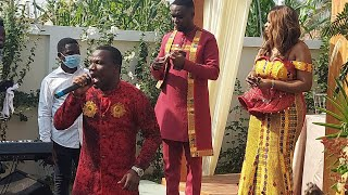 Minister Francis Amo Performs at Joe Mettle's Customary Marriage Reception