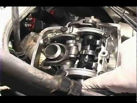 Hot Cams valve clearance inspection Honda CRF450R