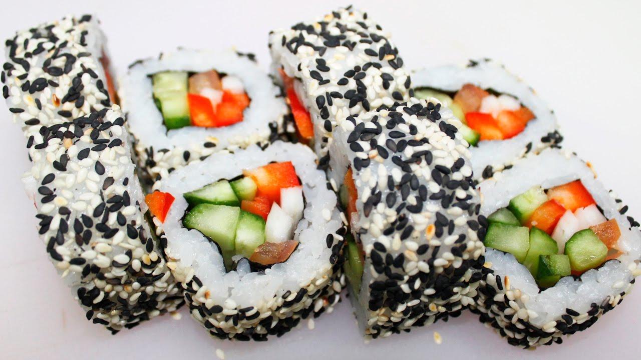 Еда в пост, Здоровый ролл,  Вегатарианская еда, вегетарианский ролл, здоровая еда