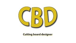 3D cutting board designer- constructor