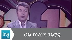 20h TF1 du 09 mars 1979 - Manifestations violentes à Denain - Archive INA