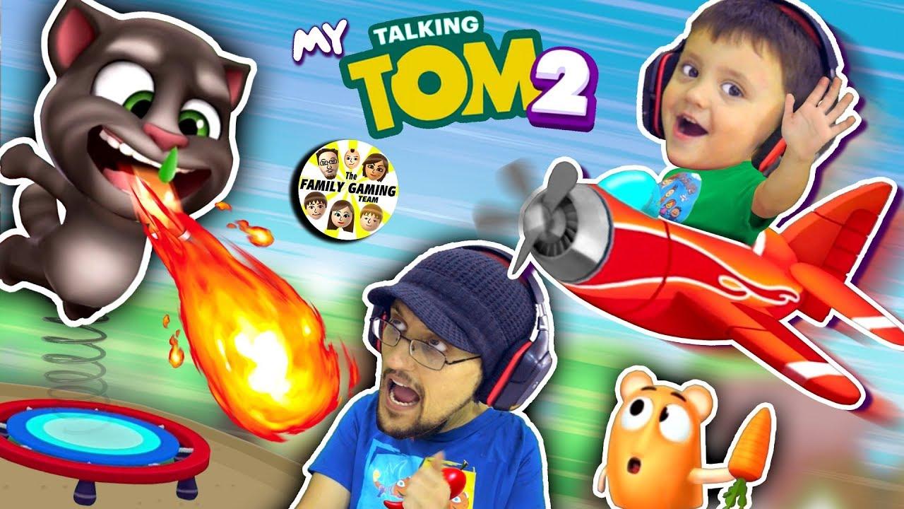 MY TALKING TOM 2 (FGTEEV)