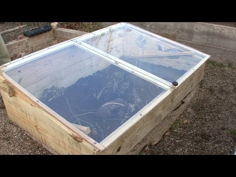 How To Build A Cold Frame - YouTube