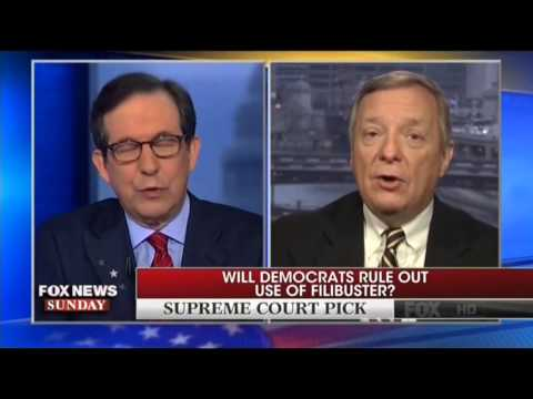 Democrat Minority Whip Durbin Won't Rule Out A Filibuster Against Trump's Supreme Court Nominee