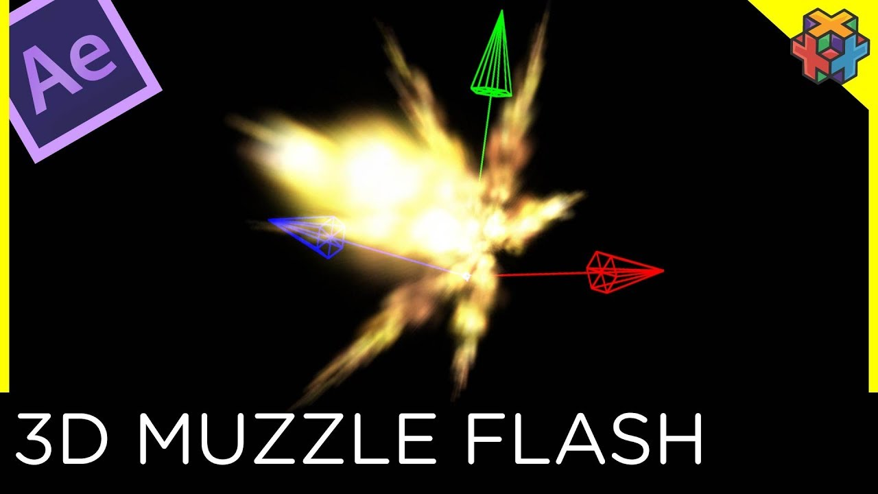 Epic realistic muzzle flash after effects tutorial youtube.