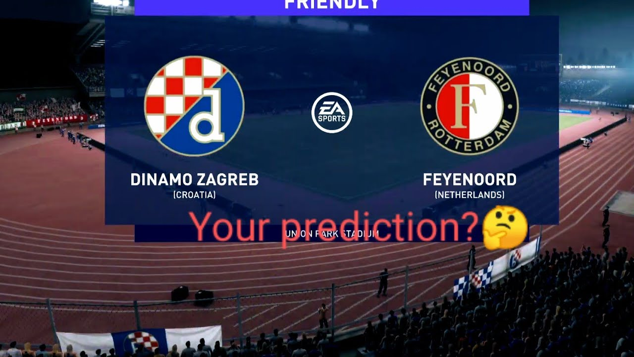 Fifa 21 Dinamo Zagreb Vs Feyenoord Europa League Group Stage My Prediction Highlights Youtube